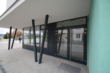 Budova autobusovej stanice v Trnave