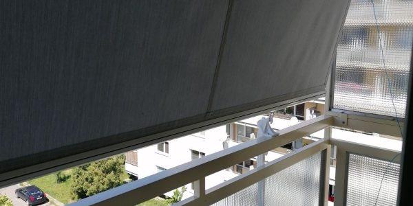 Výsuvná balkónová markíza, markíza Union-B, tieniaca technika, tienenie, Rekomplett, Trnava, Nitra, Hlohovec, Piešťany, Sereď,