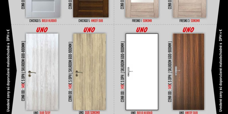 interiérové dvere skladom, Rekomplett Trnava