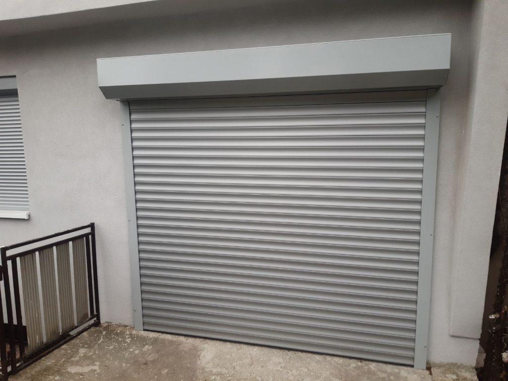 Rolovacie garážové brány, hliníkové brány, Rekomplett, Trnava