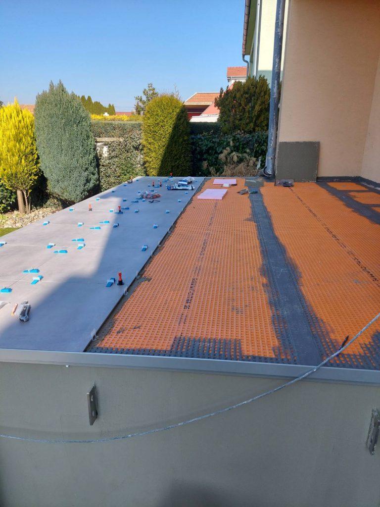 SCHLÜTER SYSTEM – DITRA 25, odizolovanie terasy, rekomplett, rekonštrukcie, dodávka a montáž