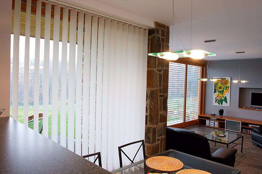 interiérové vertikálne žalúzie, dodávka a montáž, rekomplett, trnava